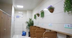 全市首家智慧公厕现身阜阳这家医院