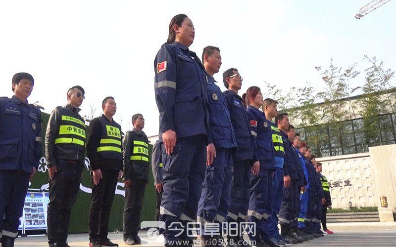 """颍上中青安防服务队,打造颍城志愿服务""""新招牌"""""""