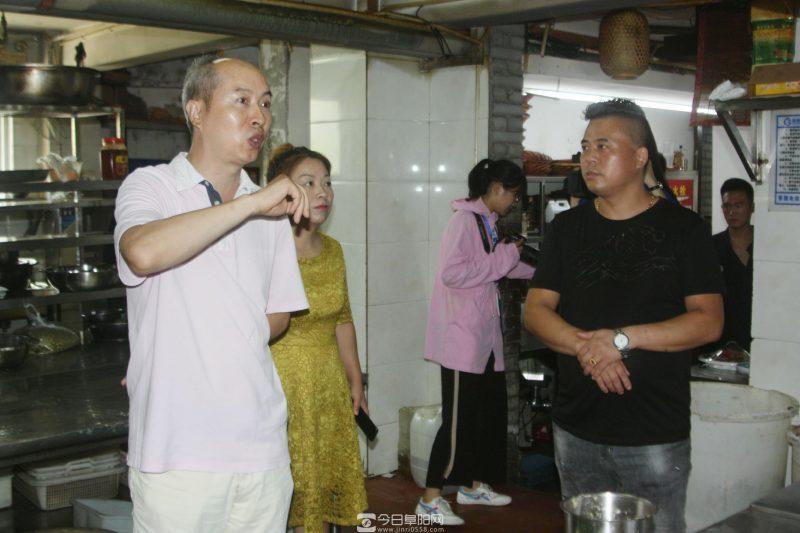 阜阳餐饮商会开展为餐饮行业一线员工送清凉活动