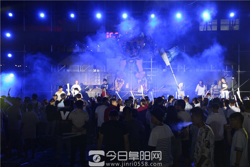 嗨爆大阜阳!2019阜阳润龙吉利机械电音狂欢节8月10日盛大启幕!