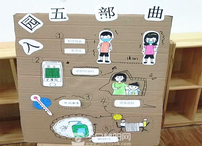 蓝月亮幼儿园:开学严把疫情防控关