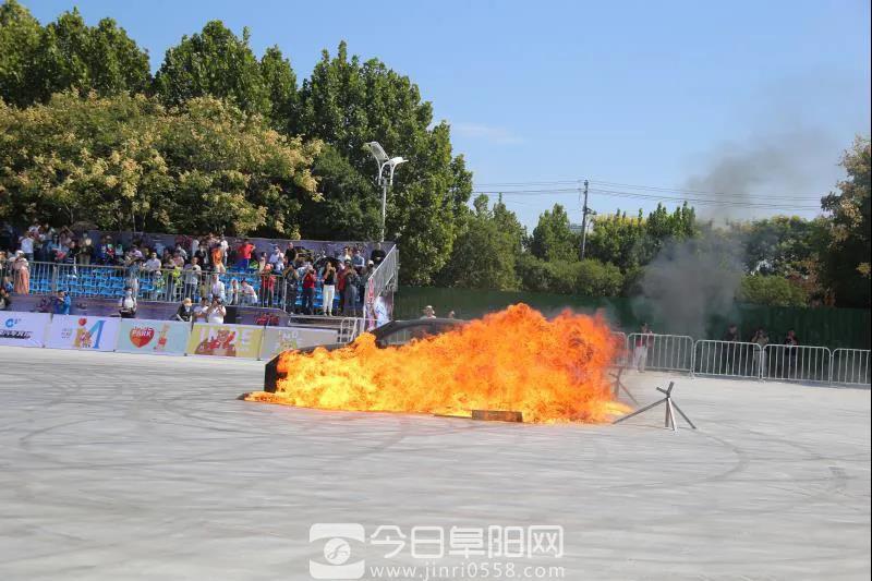 """昨天:阜阳生态园这一""""酷事""""上演"""