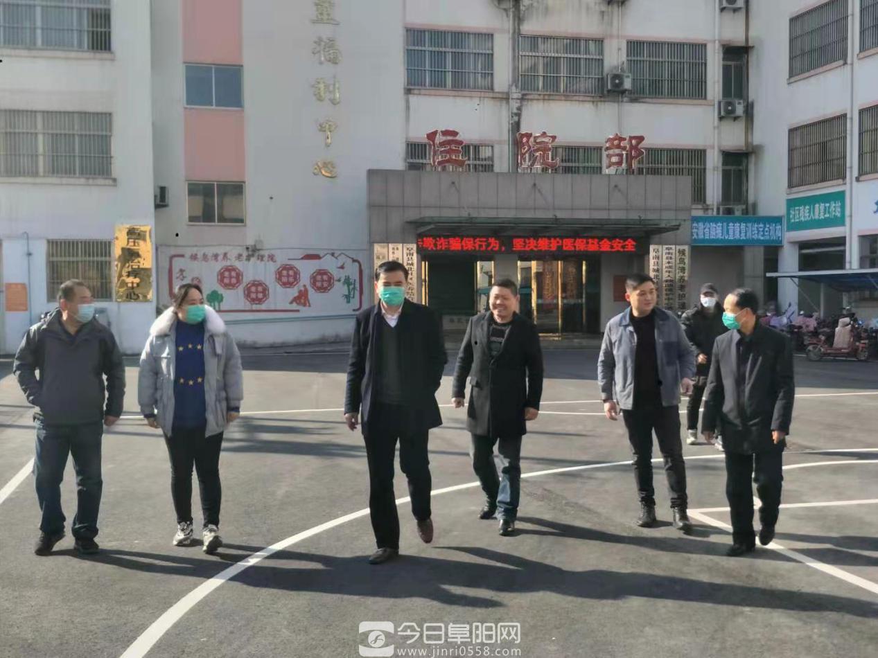 民政局党组书记、局长简保红一行到县社会(儿童)福利院、救助站开展新春慰问活动